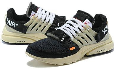 6d3da91344ab Off White X Air Presto Aa3830 001 Black Muslin Running Chaussures Homme  Femme