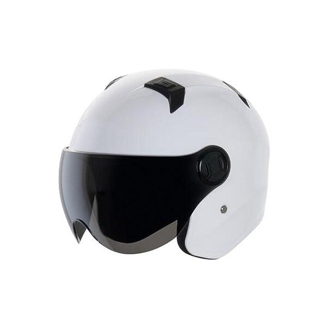 TZQ Capacete De Casco Casco Moda Personalidad Motocicleta Linda Motocicleta Hombres De Coche Lucha Casco De