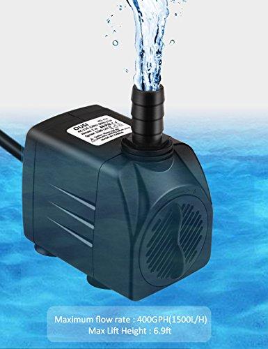 Fountain Pump Water Pump Ousi 400gph Pond Pump 25w
