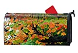 WilBstrn Earth Branch Tree Maple Leaf Fall Foliage Printed Mailbox Covers Magnetic Mailbox Makeover