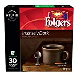 Folgers Intensely Dark K-Cup Coffee Pods, 30 K-Cup Pods, 315 Grams