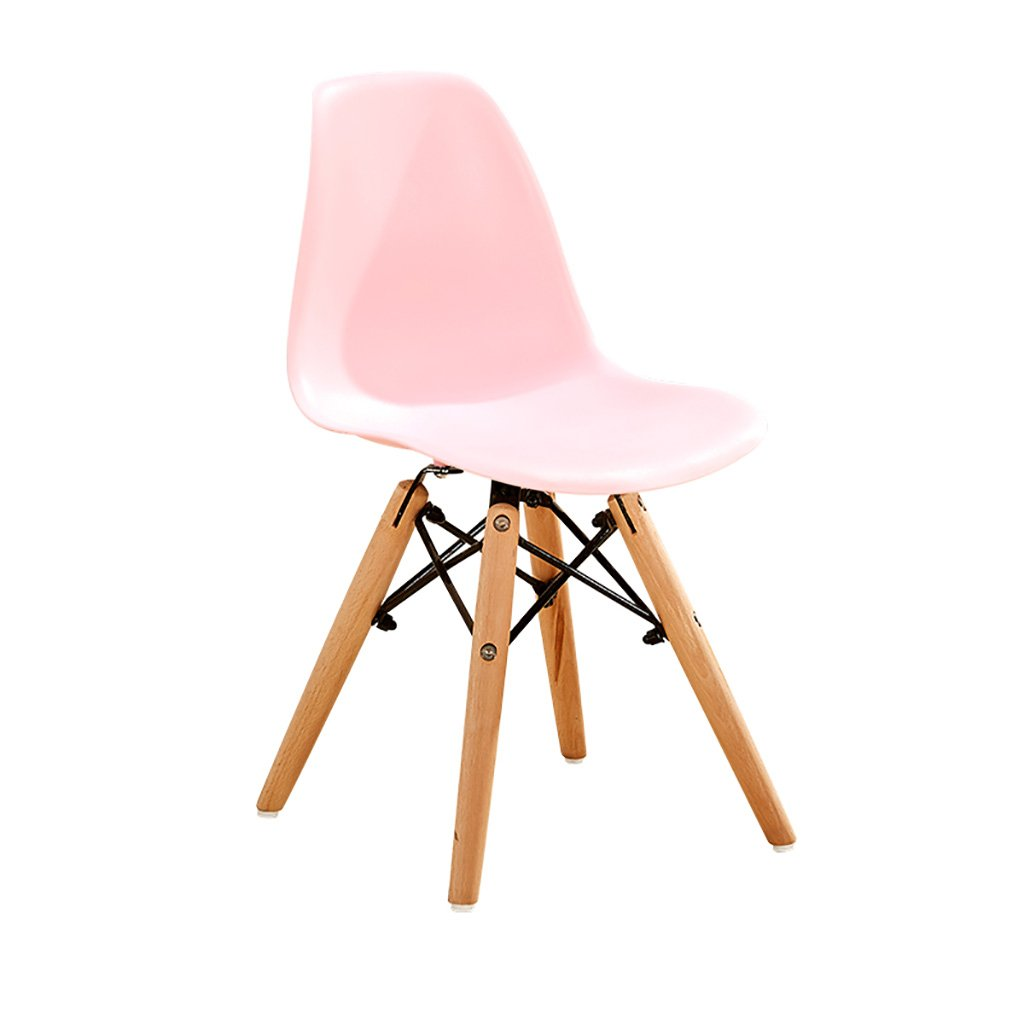 Simple Conference Chairs Negotiating Chairs Solid Wood Chairs Feet Dining Chairs Creative Commercial Plastic Chairs Backrest Lounge Chairs Computer Chairs Size: 30.52857cm (Color : 8)