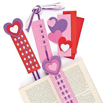 Schön Lesezeichen Bastelset   Herz   Zum Basteln Für Kinder Zum Valentinstag Und  Muttertag (4