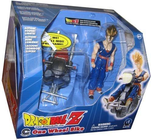 - Dragon Ball Z One Wheel Bike W/Exclusive Super Saiyan Gohan 5