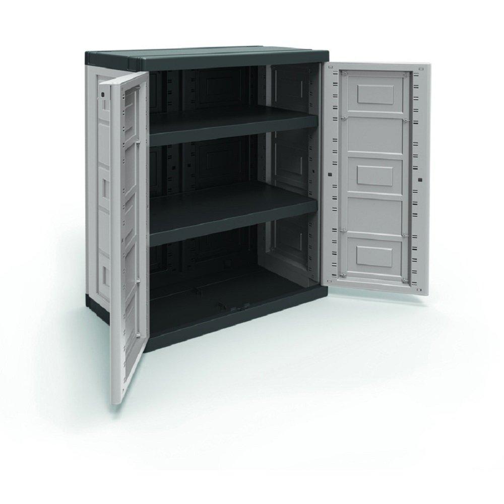 Resin Utility Cabinet Amazoncom Contico Xl Base Utility Cabinet