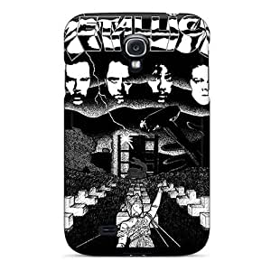 Anti-Scratch Hard Cell-phone Case For Samsung Galaxy S4 (kWK8267joPu) Customized Stylish Metallica Pictures