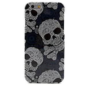 ZL Skull Pattern TPU Soft Case for iPhone 6 Plus