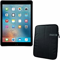 APPLE 9.7-inch iPad Pro Wi-Fi + Cellular 32GB - Space Grey MLPW2CL/A + 10.1 ' Padded Case For Tablet Bundle