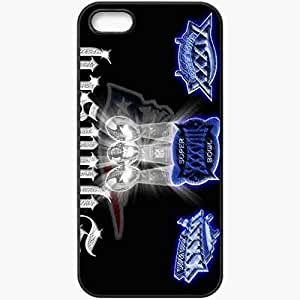 Personalized iPhone 5 5S Cell phone Case/Cover Skin 1153 new england patriots Black