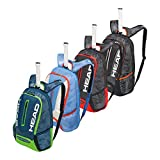 #1: Head 2018 Tour Team Backpack (Black/Red)