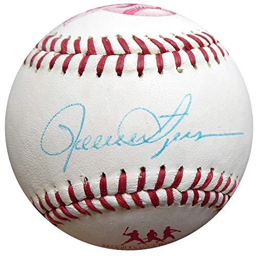 (Rollie Fingers Autographed Logo Baseball A's, Brewers Beckett BAS #E95269)