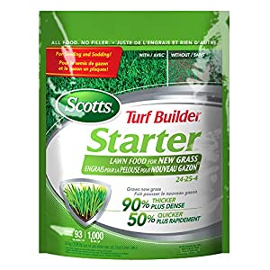 Scotts 09127 Turf Builder Starter Lawn Food 24-25-4