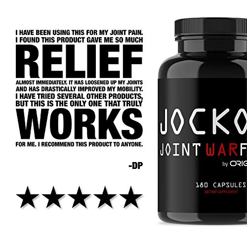 Jocko Joint Warfare - 400MG Curcumin - Glucosamine - MSM - Boswellia - Quercetin - Joint Support Supplement 180 Tablets by Origin (Image #4)