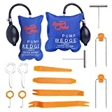 Super PDR Panel Remover Tool, Air Wedge Pump and Auto Trim Removal Tool Kit