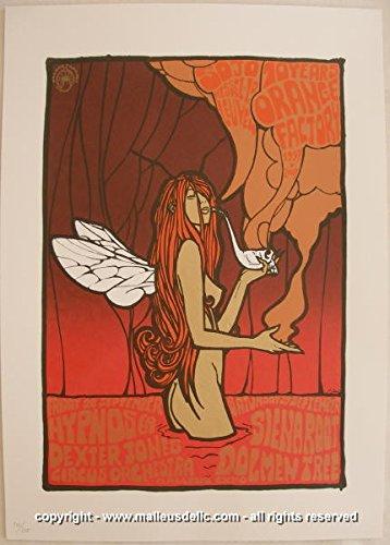 2007 Orange Factory 10th Anniversary Silkscreen Poster - Malleus