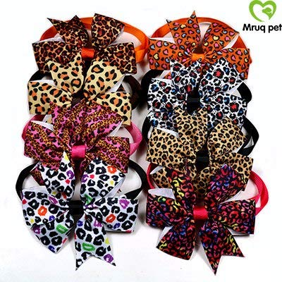 Dog Accessories 200pcs Choose Patterns Pet Puppy Dog Cat Bow Ties Adjustable Ribbon Bowties Accessory Grooming Hat Big Summer Cool Harness Xs Poop Bath German Pack