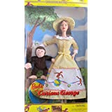 BARBIE and CURIOUS GEORGE Plush SET 2nd in Keepsake Treasures COLLECTOR EDITION (2000 Mattel Canada)