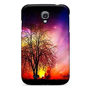 Hot Covers Cases For Galaxy/ S4 Cases Covers Skin - Space In A Sunset