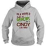 Grinches Be A Cindy Lou Who Shirt, Dr. Seuss Shirt, The Grinch Shirt - Hoodie (XL, Sport Gray)
