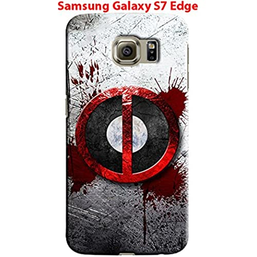 Deadpool for Samsung Galaxy S7 Edge Hard Case Cover (zbor18) Sales