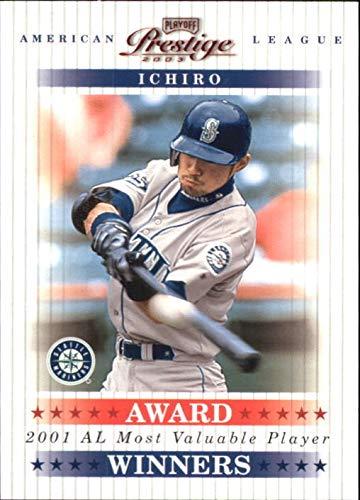 2003 Playoff Prestige Award Winners #5 Ichiro Suzuki MVP /2001 - NM