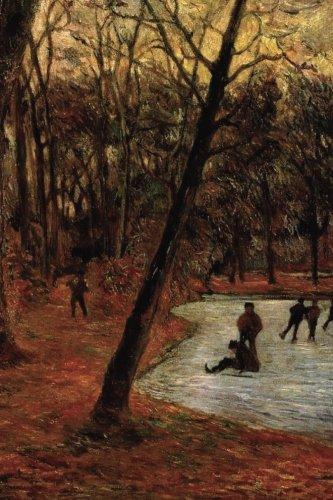 """Skaters in Fredericksberg Park"" by Paul Gauguin - 1884: Journal (Blank / Lined) (Art of Life Journals) PDF"
