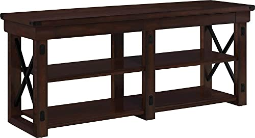 Ameriwood Home Wildwood Wood Veneer TV Stand