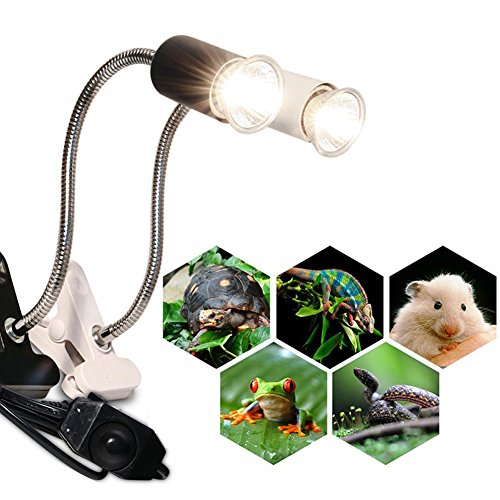 PanDaDa Reptile Heat Lamp Heater Turtle Brooder Bulb Emitter Brooder Appliances Bulb by PanDaDa (Image #6)