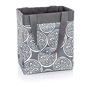 Thirty One Essential Storage Tote In Woodblock Whimsy   No Monogram   4446