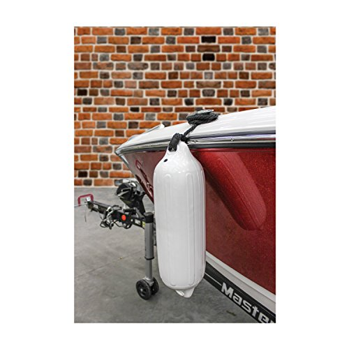 Extreme Max 3006.7201 BoatTector Fender Value 2-Pack, 6'' x 22'' - White by Extreme Max (Image #10)