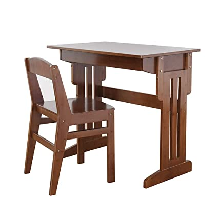 Xing Hua home Juegos de mesas y sillas Estudio de Madera Maciza ...