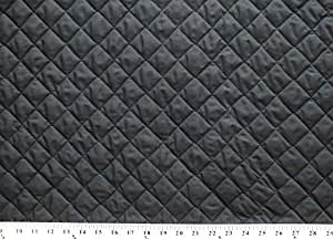 Amazon Com Double Faced Reversible Pre Quilted Black