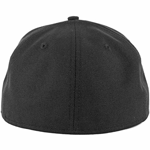 best cheap dfea2 0b2a4 New Era Plain Tonal 59Fifty Fitted Hat (Black) Men s Blank Cap - Buy Online  in Oman.   Misc. Products in Oman - See Prices, Reviews and Free Delivery  in ...