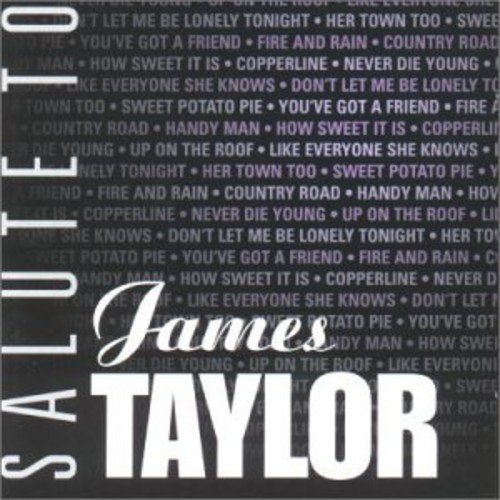 James Taylor - Salute to James Taylor (Holland - Import)