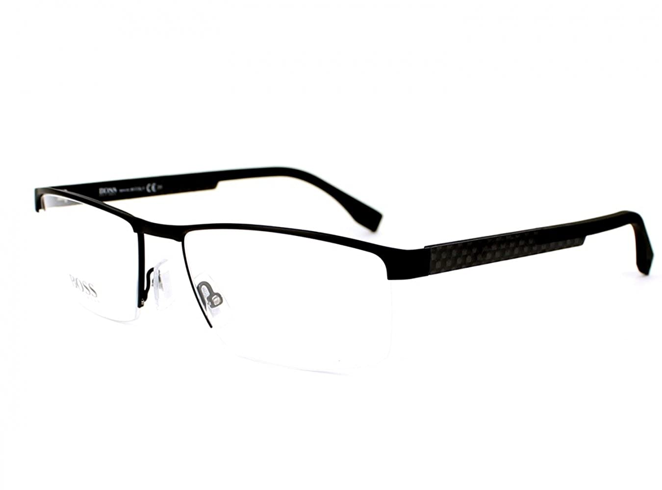 BOSS 0734 KCQ Optical frame Hugo Boss Metal Black Carbon
