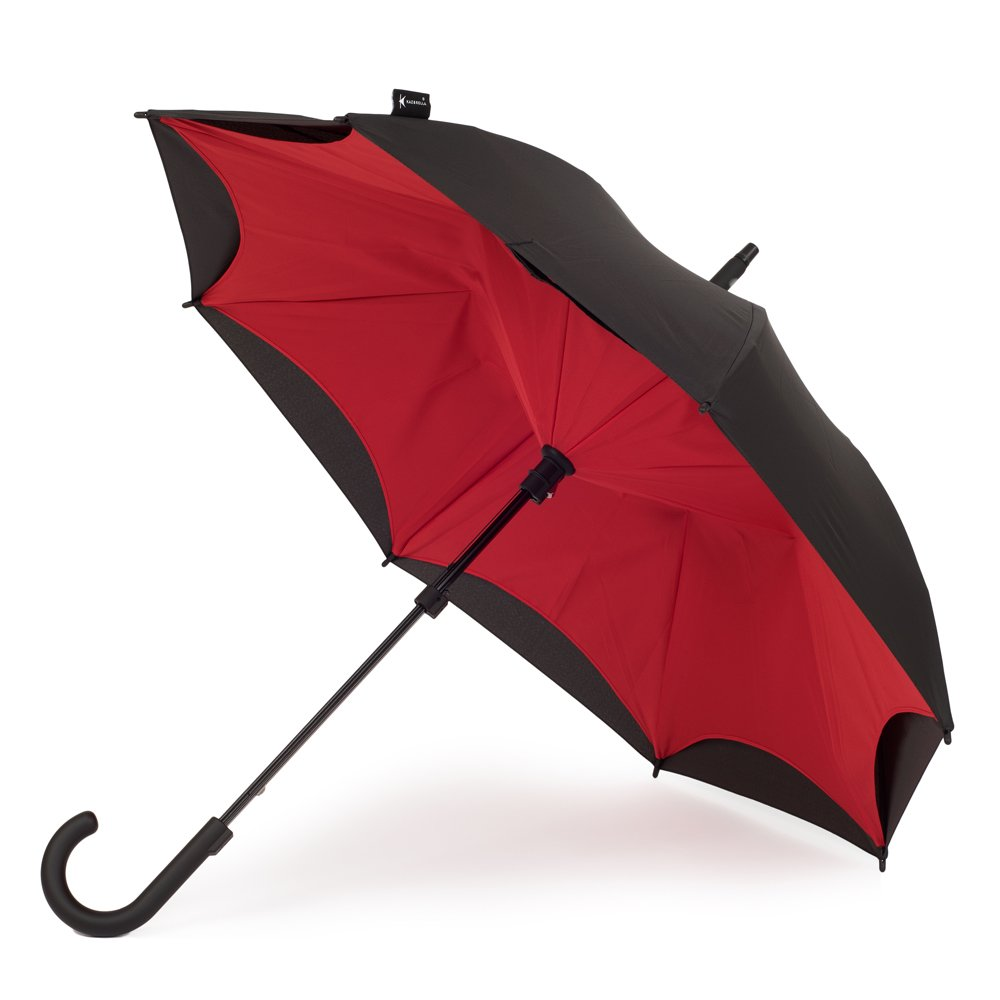 KAZbrella カズブレラ ブラック&レッド 【国内正規品】 B07335FGT3 ブラック&レッド ブラック&レッド