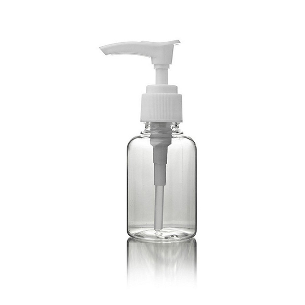 Transparent Plastic Atomiser - Empty Spray Bottle 50 ml - Pack (70ml)
