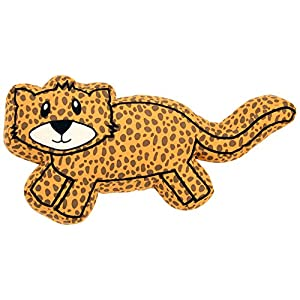 One Grace Place Jazzie Jungle Boy Decorative Pillow Cheetah, Brown and Black