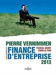 Finance d'entreprise 2013 - 11e éd.: Dalloz Gestion