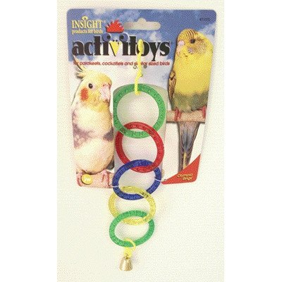 Activitoys Olympic Rings Bird Toy [Set of 4]