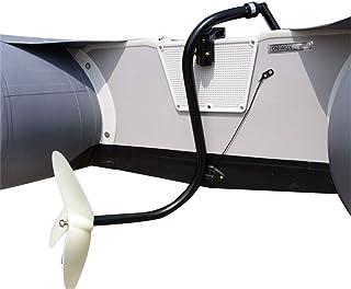 LianDu Hélice Manual de Hélice de Rueda Trasera para Motor de Barco Fueraborda