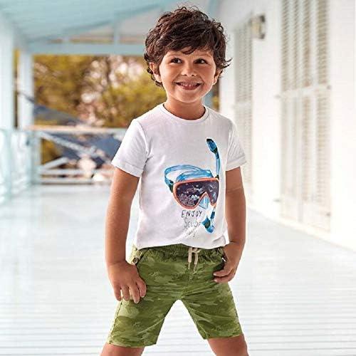 Mayoral Bermuda Stampato Tutto Gomma Bambino Modello 3264