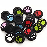 PTPTRADE 10x Silicone Rubber Gel Analog Controller Thumbstick Cap Cover for PS2/3/4/XBOX360/One (Mix-Color(each color of 2pcs))