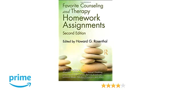 Amazon.com: Favorite Counseling and Therapy Homework Assignments ...