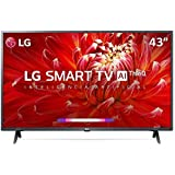 "Smart TV LED 43"" LG ThinQ AI Full HD 43LM6300PSB 3 HDMI"