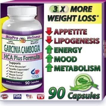 Best Fat Burner, Appetite Control, Metabolism Boost Weight Loss Management Formula, Pure Garcinia Cambogia Extract HCA, 3000mg That Work FAST for men women STRONG EXTREME Flat Belly Natural Diet Pill