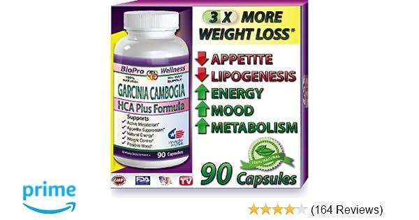 Best Fat Burner, Appetite Control, Metabolism Boost Weight Loss Management  Formula, Pure Garcinia