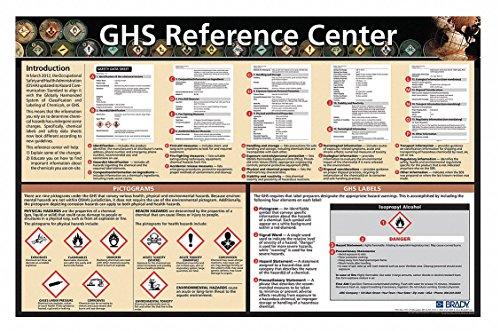 - Brady 133209 Safety Poster, Laminated Paper, English
