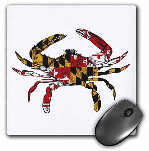 3drose Maryland Crab Flag - Mouse ()