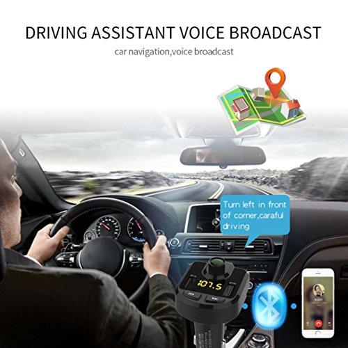 YRD TECH FM Transmitter Bluetooth Car Kit FM Transmitter